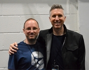 With Matthew Wood, supervising sound editor & voice actor, Lucasfilm