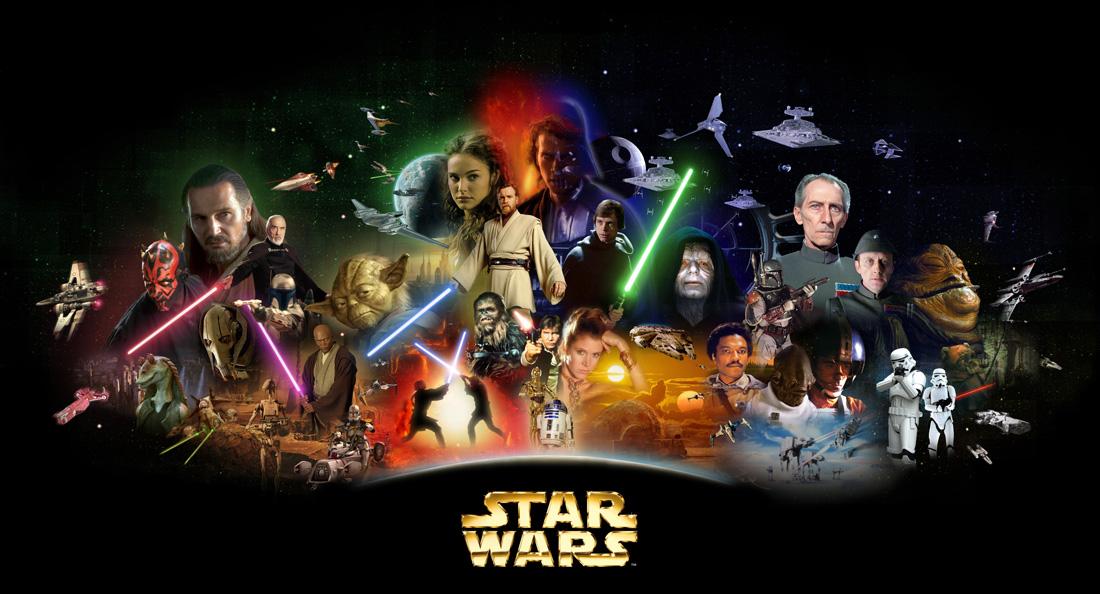 Star Wars Saga Poster
