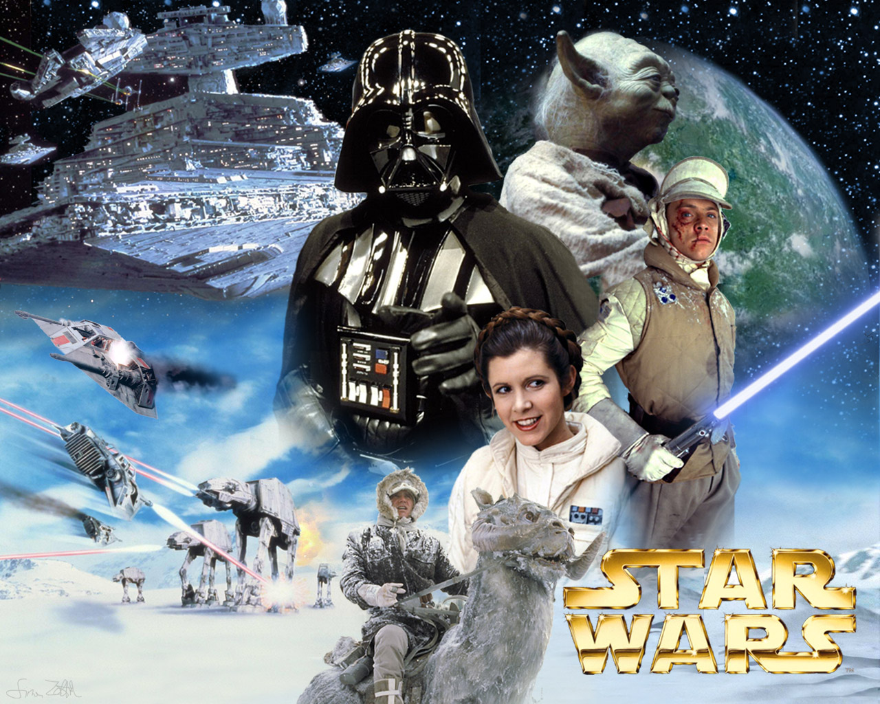 Simonz S Home Page Wallpapers The Empire Strikes Back